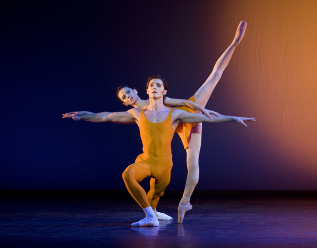 <p><em>Concerto: </em>Natasha Oughtred and Jamie Bond</p>. Credit: Bill Cooper.