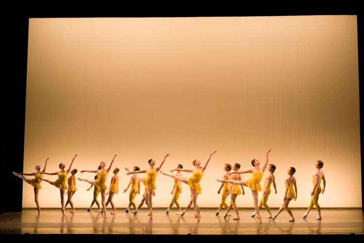 <p><em>Concerto</em>: Artists of Birmingham Royal Ballet</p>. Credit: Bill Cooper.