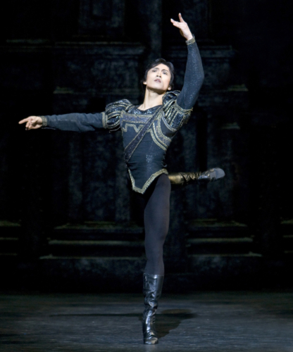 <p><em>Swan Lake: </em>Chi Cao as Prince Siegfried</p>. Credit: Bill Cooper.