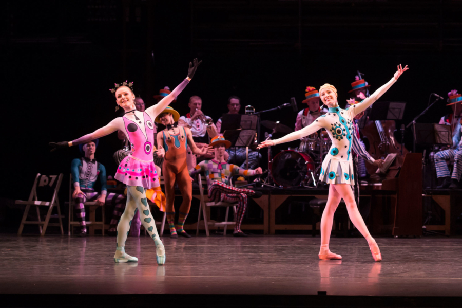 Birmingham Royal Ballet - Elite Syncopations; Laura-Jane Gibson and Callie Roberts. Credit: Bill Cooper.
