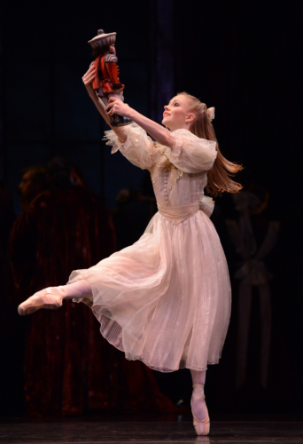 The Nutcracker: Karla Doorbar as Clara. Credit: Roy Smiljanic.