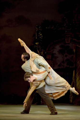 Enigma Variations: Silvia Jimenez as The Lady and Jonathan Payn as Edward Elgar. Credit: Bill Cooper.