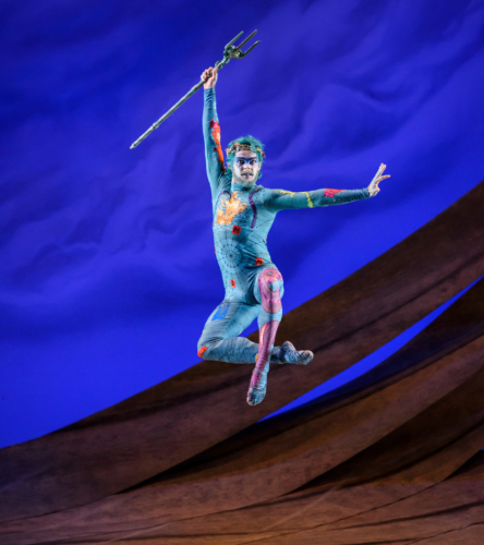 <p><em>The Tempest</em>: Lachlan Monaghan as Neptune</p>