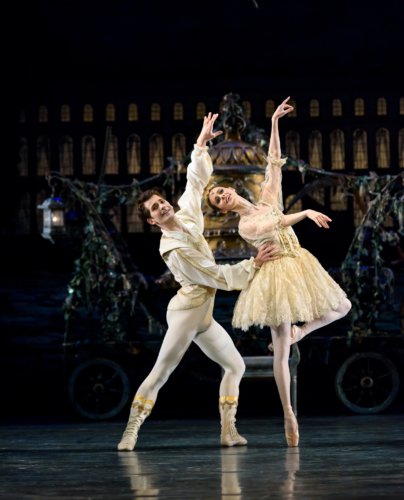<p><em>Coppélia</em>: Samara Downs as Swanilda and Mathias Dingman as Franz</p>. Credit: Bill Cooper​.