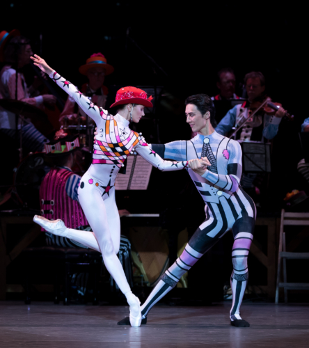 <p><em>Elite Syncopations</em>: Jenna Roberts and Yasuo Atsuji in Bethena Concert Waltz</p>. Credit: Andrew Ross​.