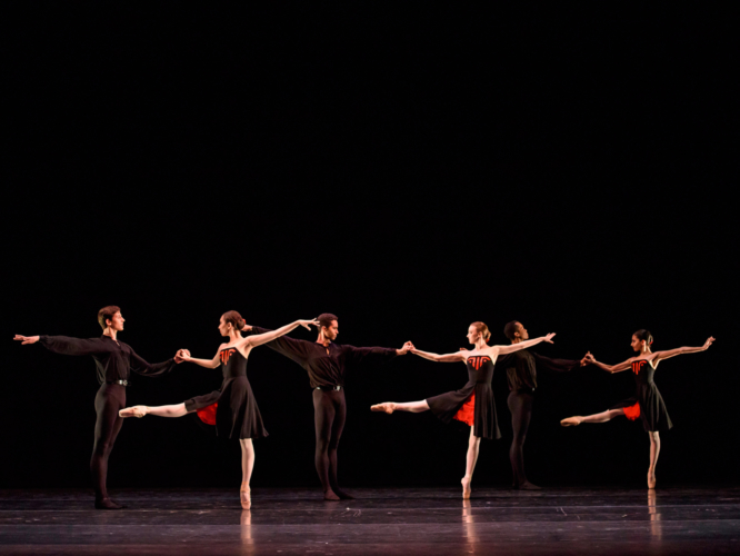 <p><em>5 Tangos:</em> Artists of Birmingham Royal Ballet</p>. Credit: Bill Cooper.