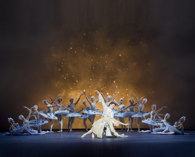 "<p><em>Cinderella: </em>Elisha Willis as Cinderella and Iain Mackay as the Prince with Artists of Birmingham Royal Ballet<span class=""redactor-invisible-space""></span></p>. Credit: Bill Cooper."