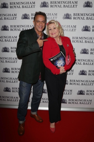 <p>Actress Lisa George and actor Jimmi Harkishin swap the cobbles for the red carpet! </p>.