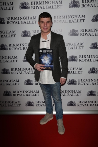 <p><em>Shameless </em>star Jody Latham bought his family along to watch the show! </p>.