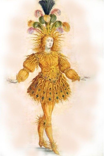 <p>King Louis XIV in Ballet de la nuit, 1653. </p>.