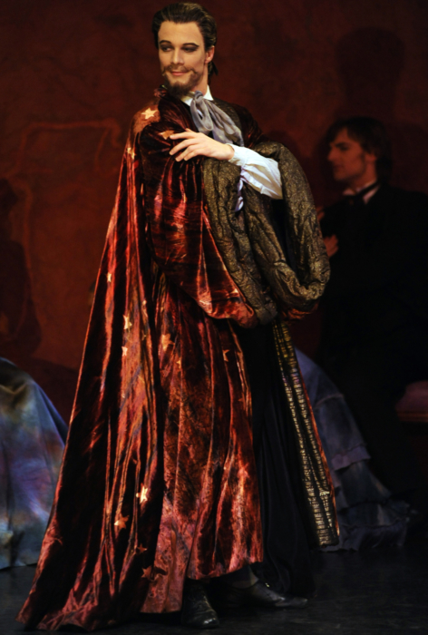 <p><em>The Nutcracker </em>from the wings: Robert Parker as Drosselmeyer</p>. Credit: Roy Smiljanic.
