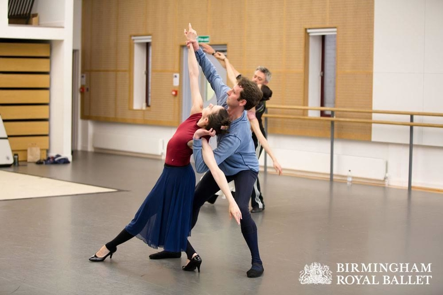 The Shakespeare Suite: Arancha Baselga and Valentin Olovyannikov in rehearsal